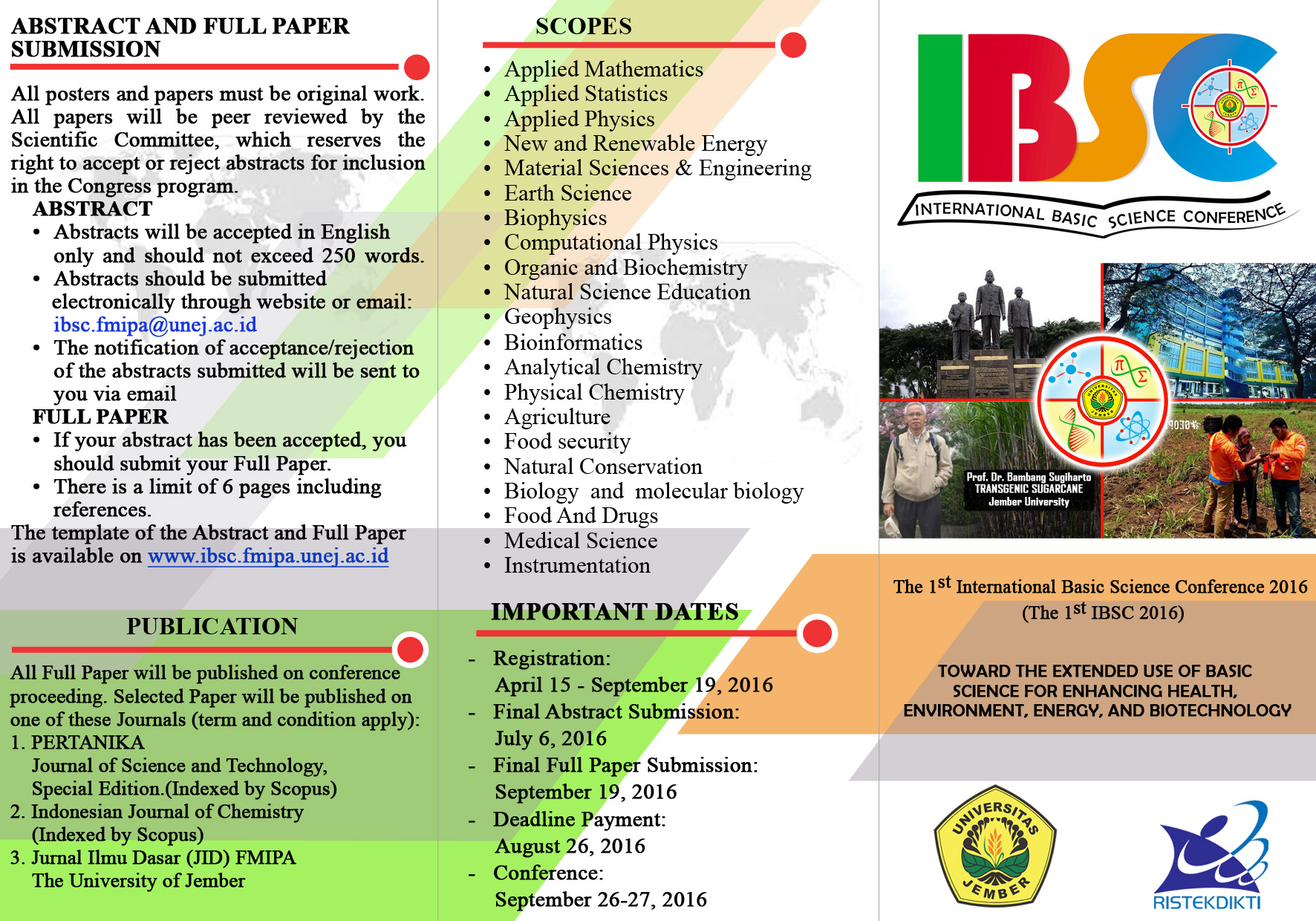 leaflet IBSC A4 depan